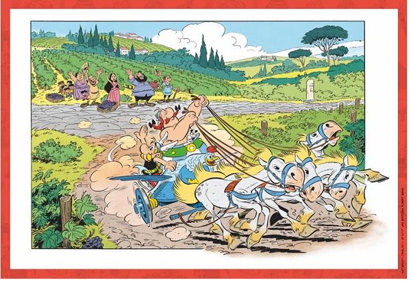 Asterix et la Transitalique album 2017