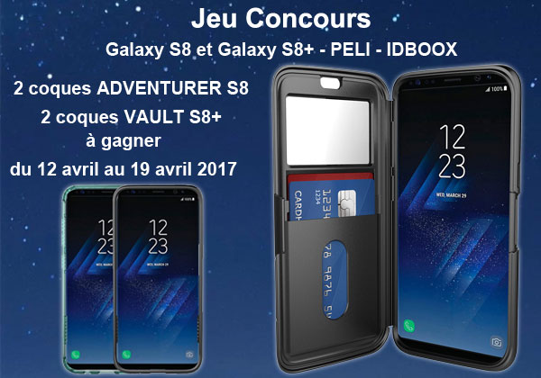 Galaxy S8 et Galaxy S8+ des coques à gagner