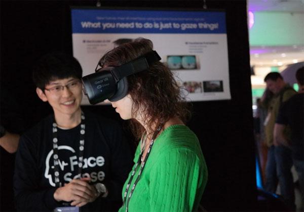 Samsung FaceSense réalité virtuelle