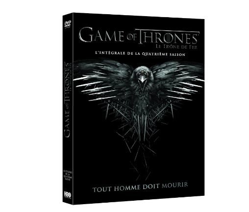game of thrones dvd saison 4 bon plan