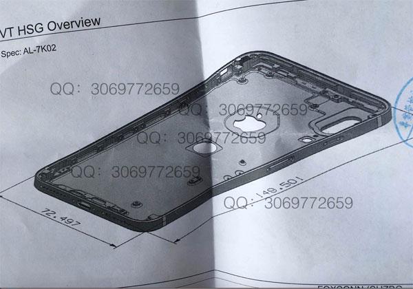 iPhone 8 un nouveau schéma