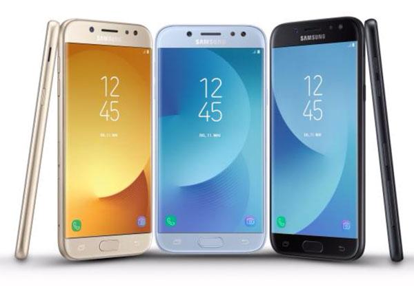 Samsung Galaxy J3, J5 et J7 (2017)