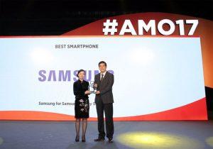 Galaxy S8 et Galaxy S8+ élus meilleurs smartphones au MWC 2017 en Chine