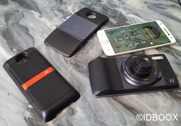 Moto Z2 double caméra