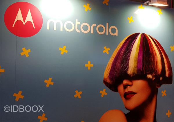 Motorola brevet écran répare tout seul