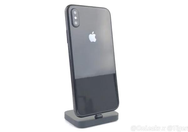 iPhone 8 le scanner d'empreintes remplacé par un scanner facial