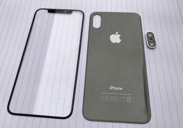 iPhone 8 brevet sur le scanner d'empreintes