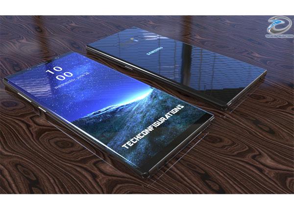 Galaxy Note 8 en vidéo