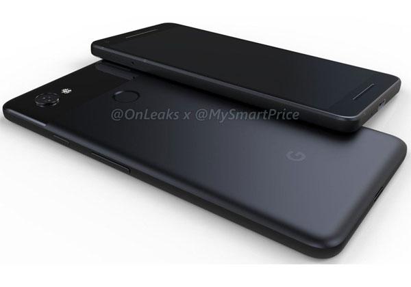 Google Pixel 2 et Pixel XL 2 aperçus en 3D