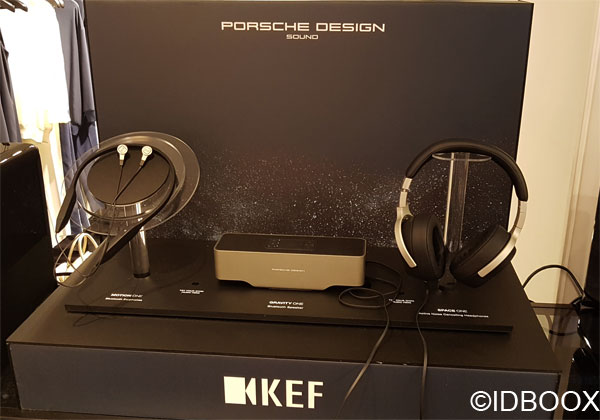 KEF et Porsche Design casques audio Bluetooth