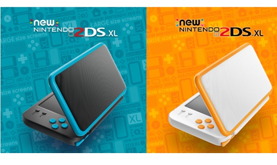 New Nintendo 2DS XL dispo