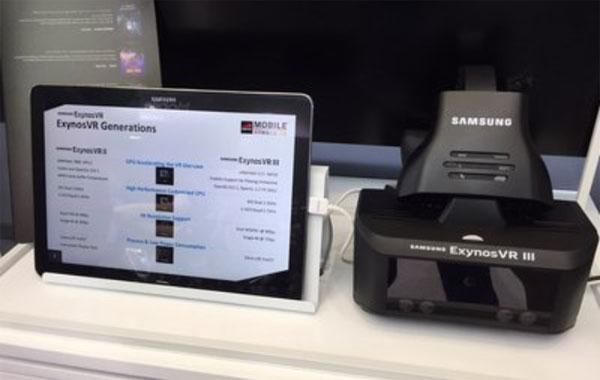 Samsung casque Exynos VR III