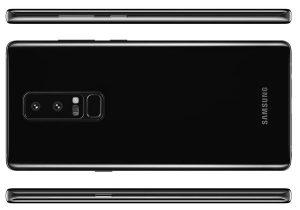 Galaxy Note 8 visuel officiel