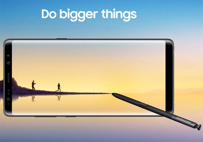Galaxy Note avec écran pliable