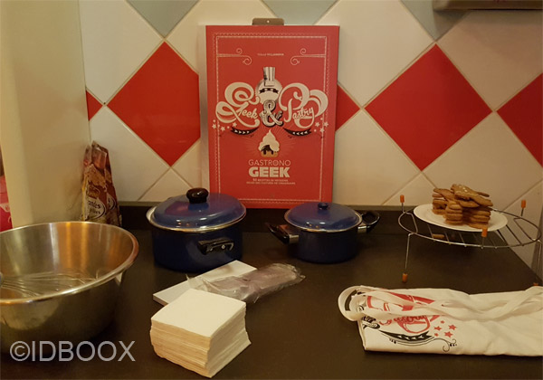 Gastronogeek nouveau livre Geek & Pastry