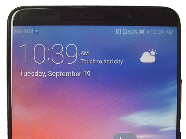 Huawei Mate 10 photo en fuite