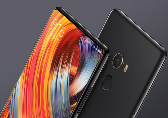 Xiaomi Mi Mix 2 le vrai smartphone sans bord