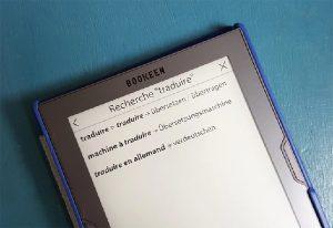 cybook bookeen traducteur