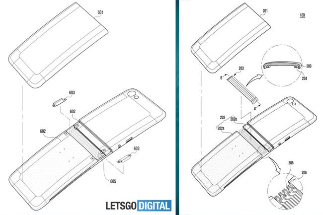 Galaxy X un nouveau brevet