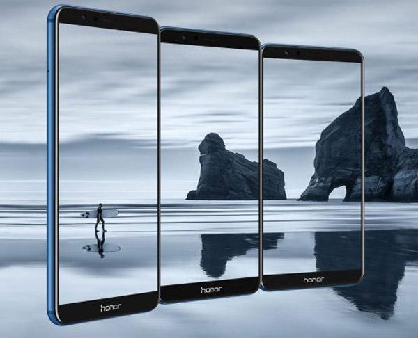 Honor 7X avec écran 18:9