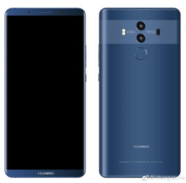 Huawei Mate 10 photos et caractéristiques