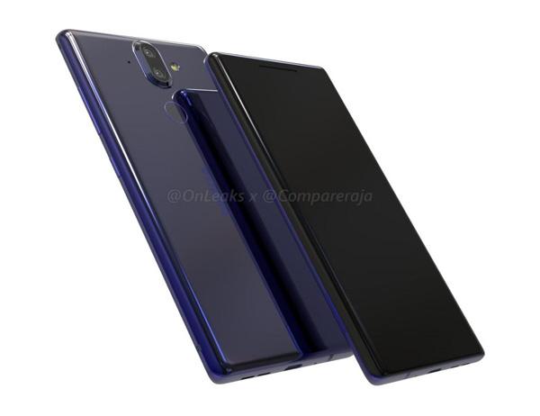 Nokia 9 avec un écran borderless