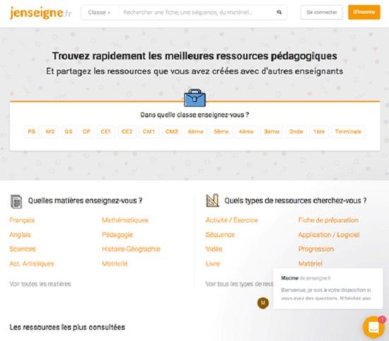 jenseigne.fr education