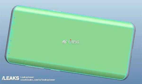 Galaxy S9 schéma 3D CAD