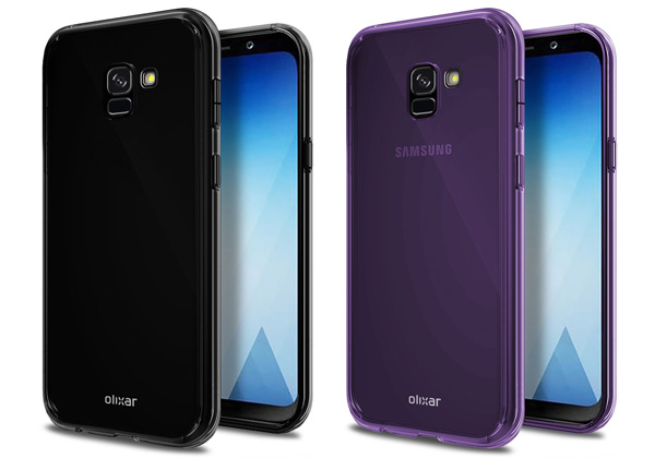 Galaxy A5 2018 visuels écran Infinity Display