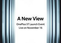 OnePlus 5T lancement à New York
