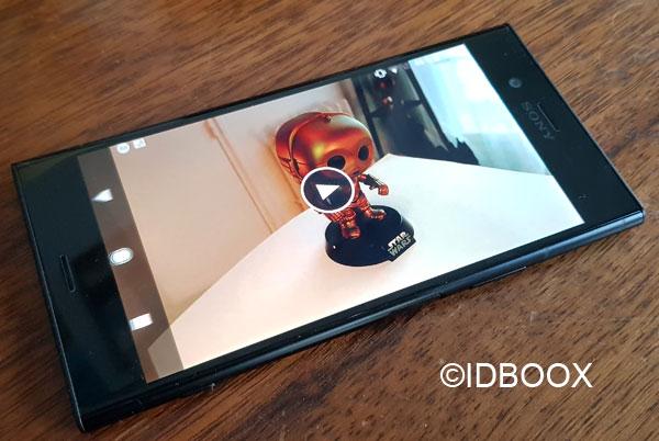 Sony Xperia XZ2 Compact écran 5 pouces