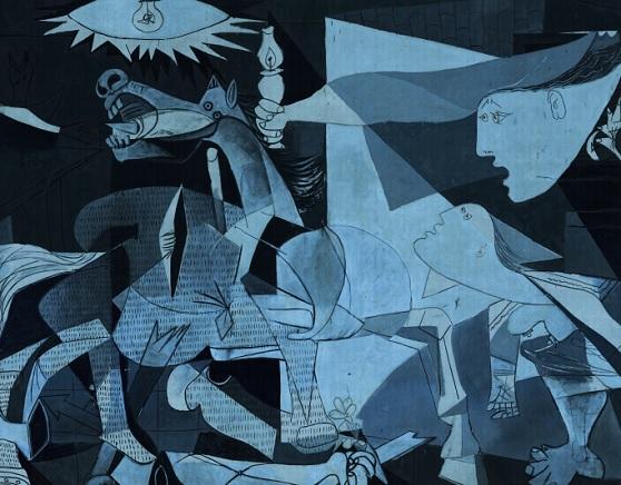 repenser Guernica Pablo picasso
