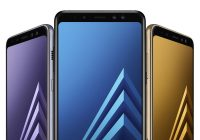 Galaxy A8 2018 officiels