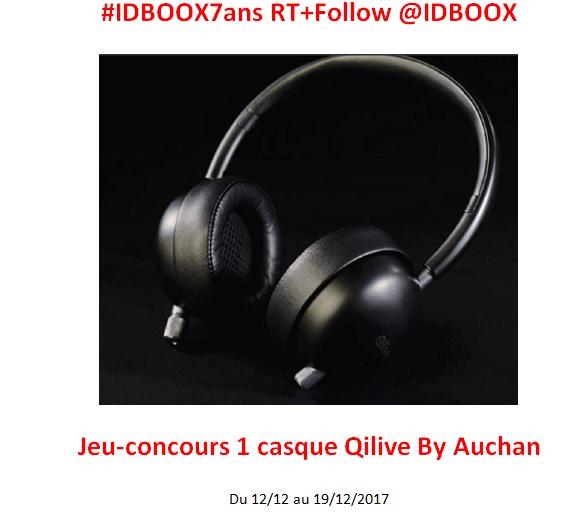 Qilive By Auchan Jeu-concours