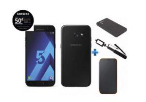 Bon Plan Galaxy A5 2017 avec 3 accessoires