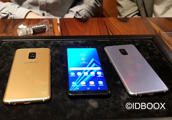 JBL Samsung Galaxy A8 2018 prise en main en vidéo