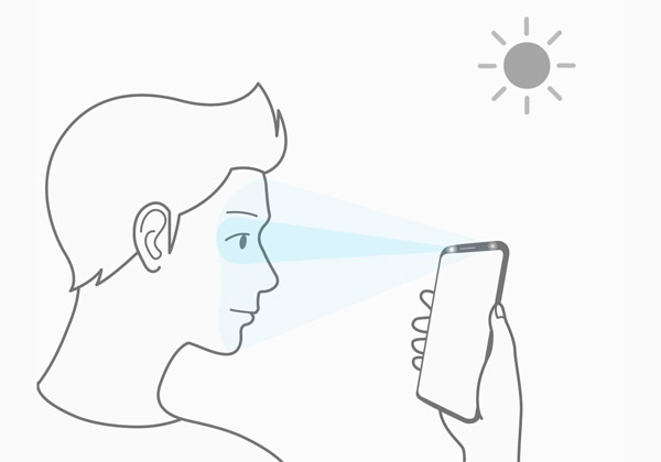 Galaxy S9 scanner intelligent