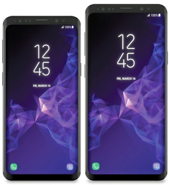 Galaxy S9 plus cher que la Galaxy S8