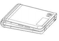 Samsung smartphone a écran pliable de 7 pouces
