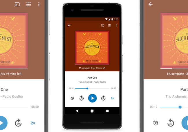 Google Play Livres audio