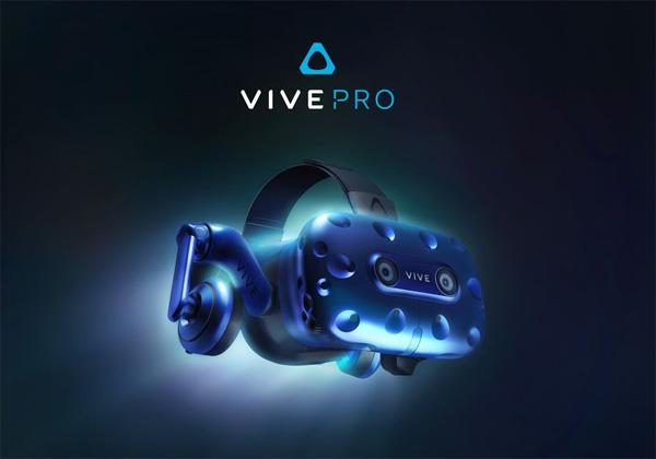 HTC Vive Pro dévoilé au CES 2018