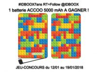 Jeu concours batterie smartphone ACCOO