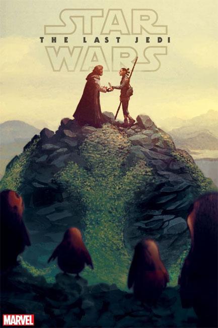 Star Wars : Les derniers Jedi adapté en série Comics
