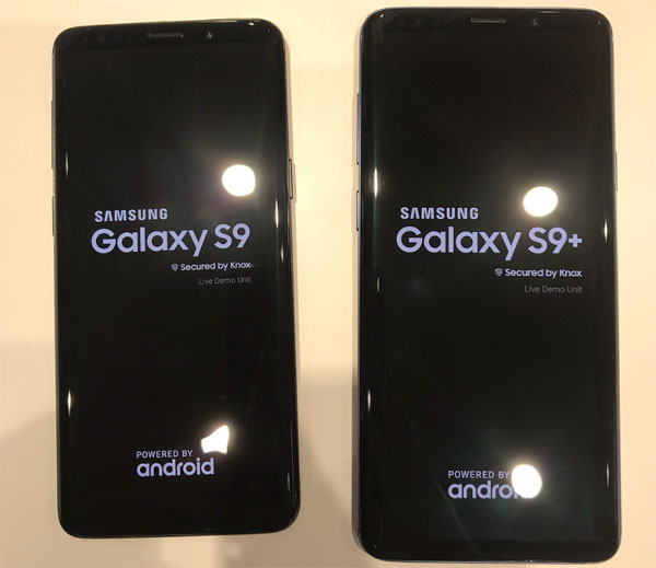 Galaxy S9 photos avant MWC 2018
