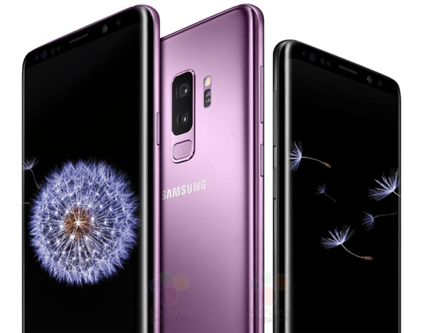 Galaxy S9 visuels presse officiels