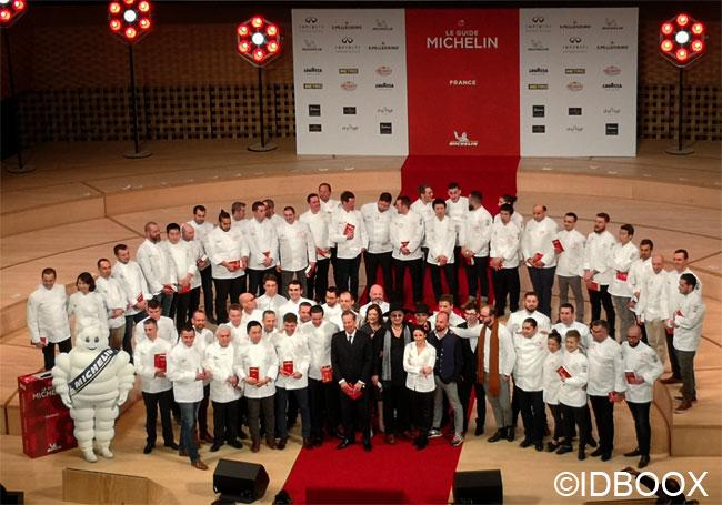 Le guide Michelin 2019 les étoilés
