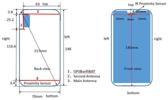 Huawei P20 Lite un écran comme iPhone X