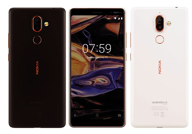 Nokia 7 Plus et Nokia 1 premiers rendus 3D