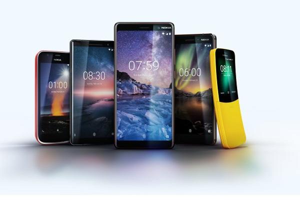Nokia 5 smartphones au MWC 2018