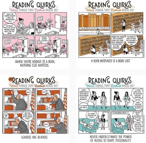 accros aux livres